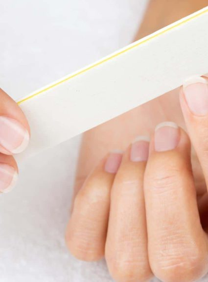 How to file your nails correctly