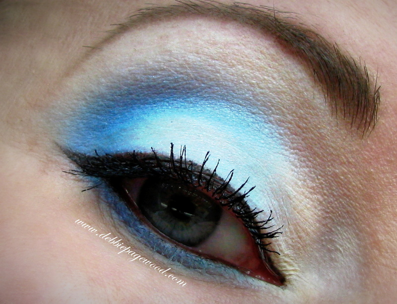 Caribbean Blue make-up tutorial