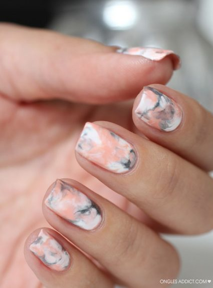 Marbled Nail Art Tutorial
