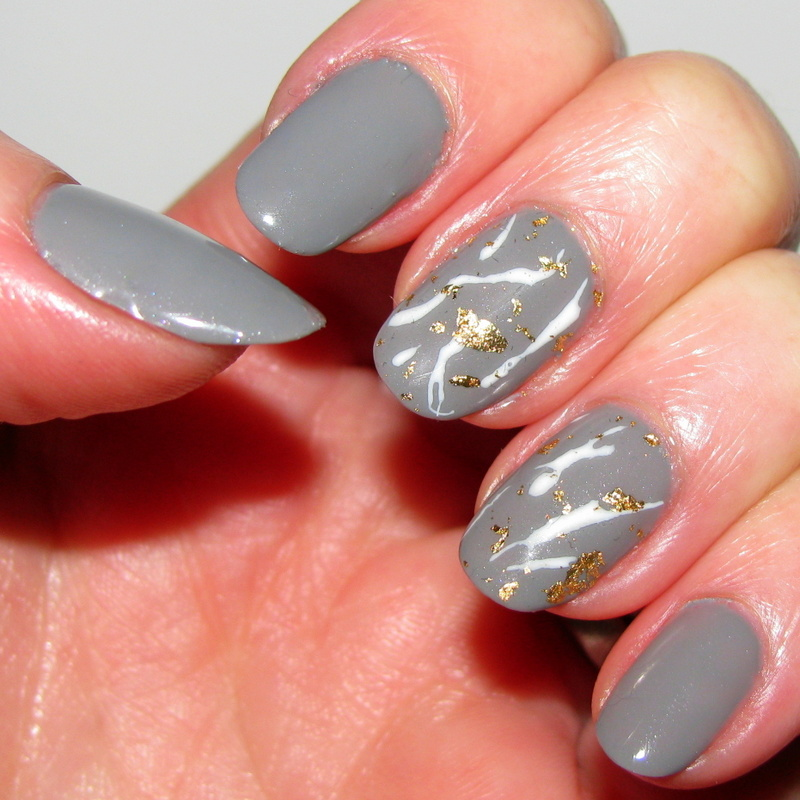 Gold Leaf Nail Art Tutorial