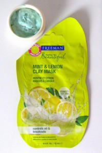 Freeman Mint & Lemon mask