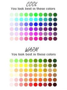 skin tone shades