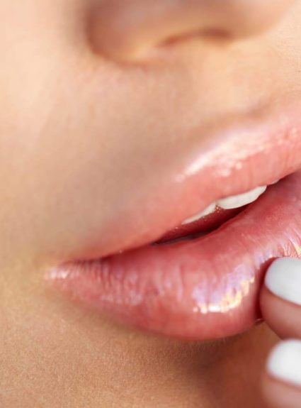 How to treat dry lips