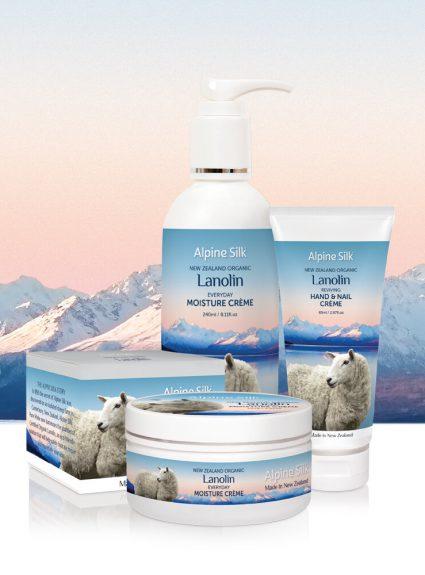 Alpine Silk Lanolin Collagen Creme