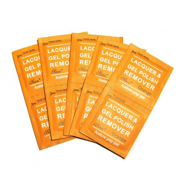 Acetone pads
