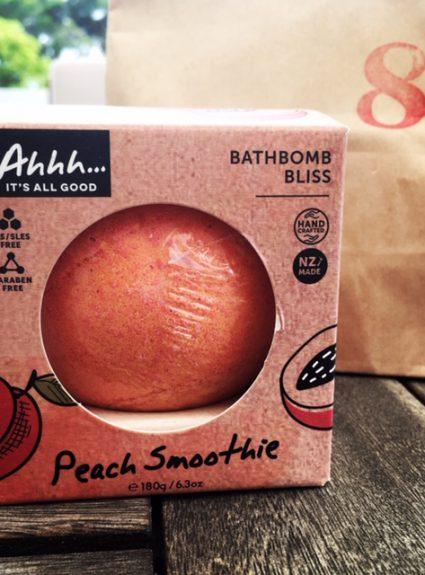 Ahhh… Peach Smoothie